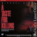A Taste For Killing LaserDisc Biehn Bateman Thriller