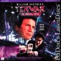 Tekwar DSS Rare NEW LaserDisc Shatner Higginson Cult Sci-Fi