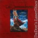 The Ten Commandments UNCUT NEW Remastered +CAV WS LaserDisc Box Set Heston Drama