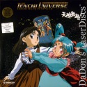 Tenchi Universe Tenchi Muyo in Space 2 CAV NEW Japan LaserDisc Box Action Anime