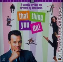 That Thing You Do! AC-3 THX WS NEW Rare LaserDisc Hanks Comedy