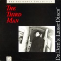 The Third Man Criterion #5 Rare LaserDisc Welles Thriller