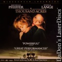 A Thousand Acres AC-3 WS Rare LaserDisc Pfeiffer Lange Drama