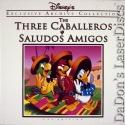 The Three Caballeros Saludos Amigos Uncut CAV LaserDisc Box