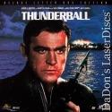 Thunderball AC-3 THX WS Rare LD 007 James Bond Connery Spy Action