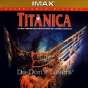Titanica Dolby Surround Rare NEW IMAX LaserDisc Shipwreck Documentary