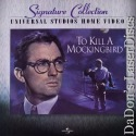 To Kill a Mockingbird THX WS Signature Collection LaserDisc Drama
