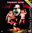 Tourist Trap Shadow Rare Cult LaserDisc NEW Roberts Connors