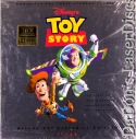 Toy Story AC-3 THX Widescreen CAV LaserDisc Disney Box Set Pixar Animation