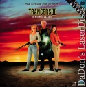 Trancers II Return of Jack Deth Full Moon LaserDisc Thomerson Sci-Fi