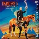 Trancers 5 Sudden Deth Full Moon LaserDisc NEW Thomerson Sci-Fi