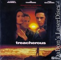 Treacherous LaserDisc Carrere Howell Baldwin