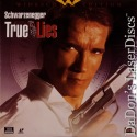 True Lies AC-3 THX WS LaserDiscs Schwarzenegger Action