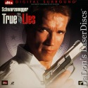 True Lies DTS WS Rare LaserDisc Schwarzenegger Curtis Spy Action
