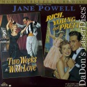 Two Weeks With Love Rich Young And Pretty NEW LaserDisc Musical