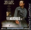 U.S. Marshals LaserDisc AC-3 WS NEW Tommy Lee Jones Snipes Downey Action