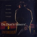 Unforgiven WS DSS Mega-Rare LD Anamorphic Squeezed Western