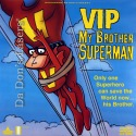 VIP My Brother Superman Rare LaserDisc Bozzetto Animation