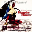 Vampire Hunter Vol 1-4 AC-3 Japan Rare LD Anime Boxset
