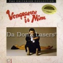 Vengeance Is Mine Criterion #34 Rare LD Boxset Drama