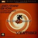 Vertigo DTS LaserDisc THX WS Hitchcock Novak Stewart Thriller