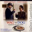 Wag the Dog AC-3 WS Rare LaserDisc DeNiro Hoffman Comedy