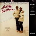 The Way We Were WS PSE LaserDisc Pioneer Special Edition Romantic Drama