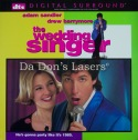 The Wedding Singer DTS WS LaserDisc NEW Sandler Barrymore Comedy