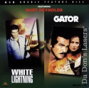 White Lightning Gator Double Feature NEW LaserDisc Moonshine Reynolds Action