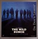 The Wild Bunch AC-3 Uncut +CAV WS Rare NEW LaserDiscs Box Set Holden Western