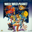 Wild, Wild Planet Widescreen LaserDisc Mega-Rare NEW LD Cult Sci-Fi Not-on-DVD
