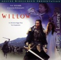 Willow WS THX LaserDisc Val Kilmer George Lucas Whalley