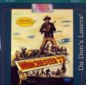 Winchester '73 Encore NEW LaserDisc Stewart Winters