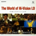 Sony demonstration disc #2 The World of Hi-Vision LD MUSE Rare HDTV 1080i