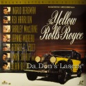 The Yellow Rolls-Royce WS Mega-Rare NEW LaserDisc Sharif