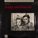 Young and Innocent Rare Criterion #24 LaserDisc NEW Hitchcock Mystery