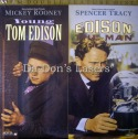 Young Tom Edison / Edison, The Man Rare NEW LaserDiscs Rooney Biography